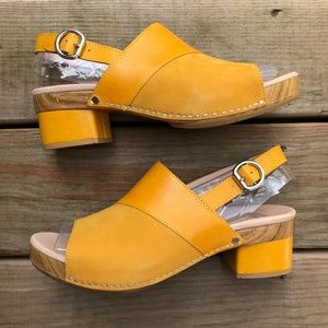DANSKO Madalyn Mango Leather Sling Back Sandal
